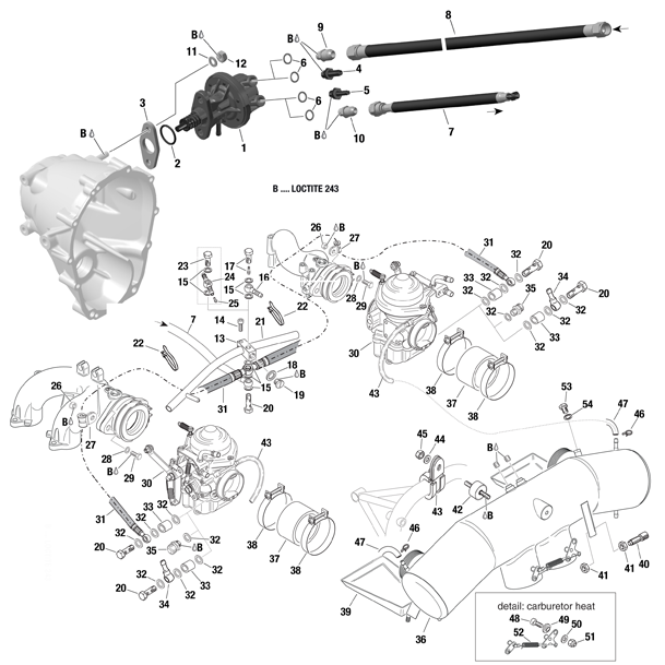 Carburetors, Fuel System