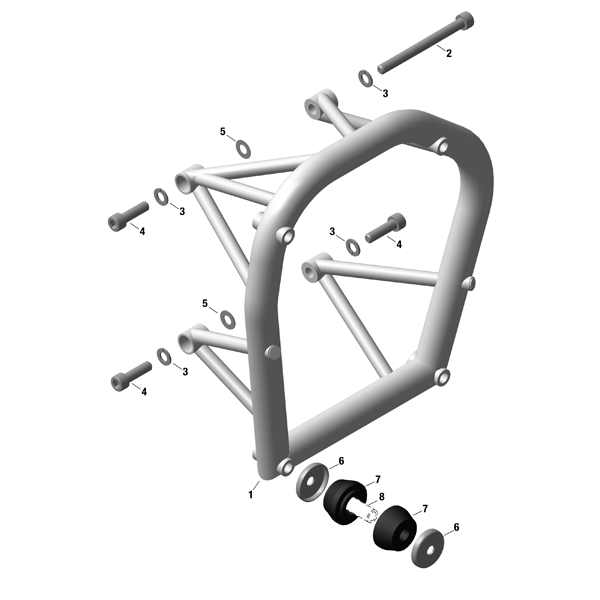 Engine Suspension Frame