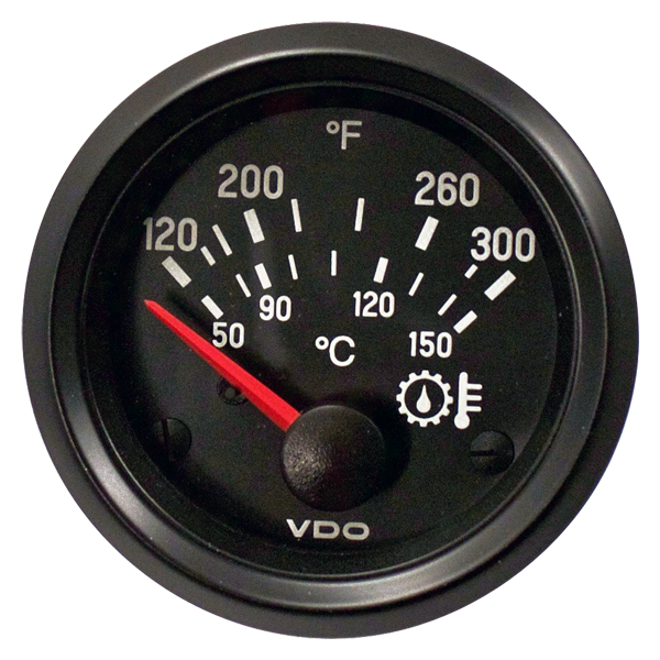 Oil Pressure, Temperature