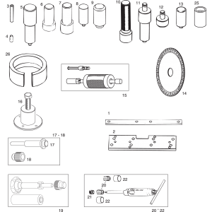 582 UL Repair Tools