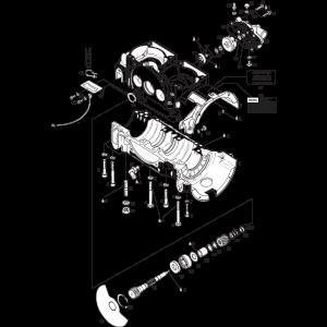 ROTAX 582 UL Mod. 90 Crankcase