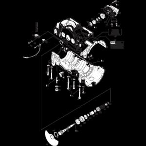 582 UL Mod. 99 Crankcase