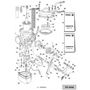 912 Series Carburetor - Single Parts
