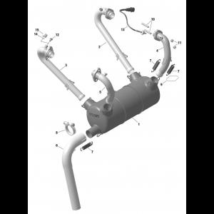 912 iS Exhaust (Standard)