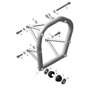 912 iS Engine Suspension Frame