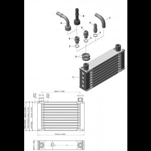 912 iS Oil Radiator