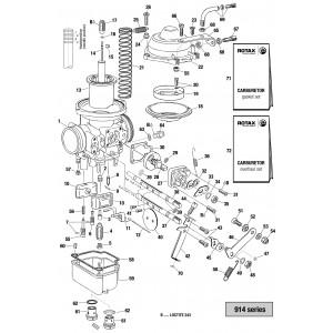 914 Series Carburetor - Single Parts