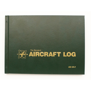 Deluxe Aircraft Log, Hardcover