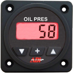 ADI Digital Oil Pressure Gauge
