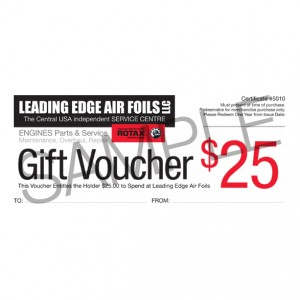 Leading Edge Air Foils Voucher starting at $10.00