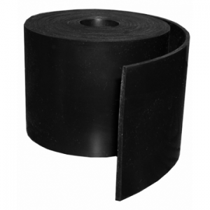"Silicone Engine Baffle Material, Black 3/32"" Non-Reinforced"