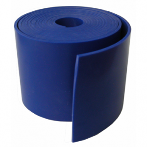 "Silicone Engine Baffle Material, Blue 3/32"" Non-Reinforced"