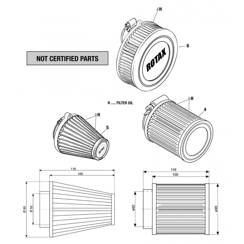 912 & 914 Air Filters