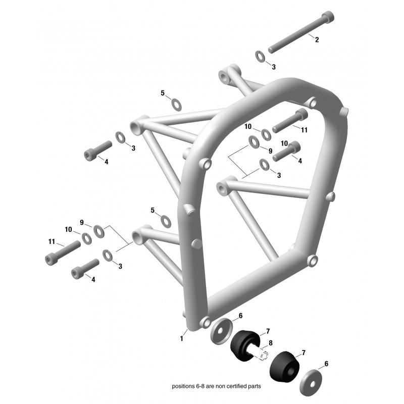 912 & 914 Engine Suspension Frame