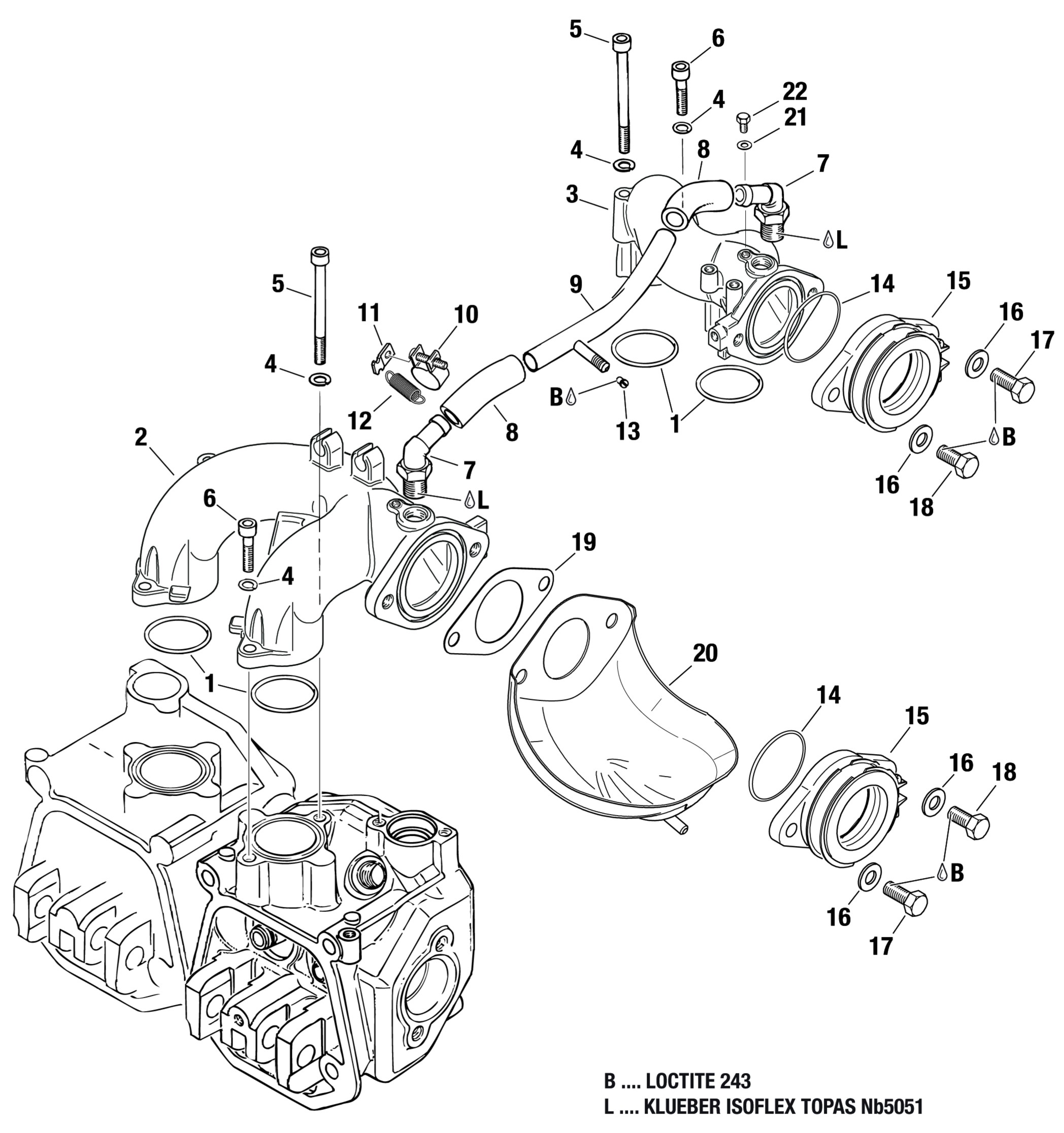 Search Results For 912 914 Intake Manifold Rotax Engine Diagram Compensating Tube Assembly