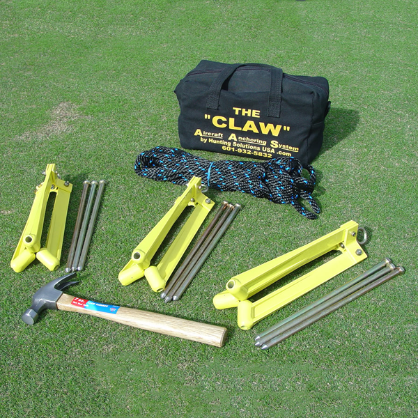 The Claw C100 Aircraft Anchoring System
